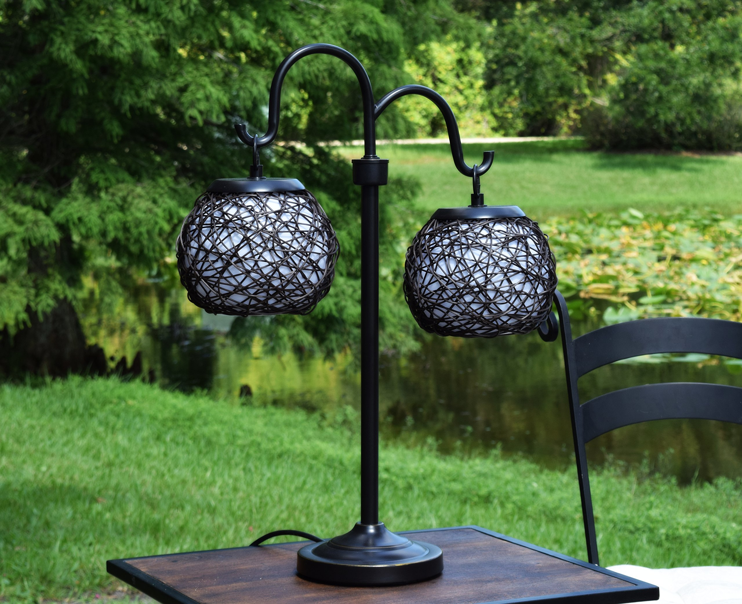 Kenroy Home 32245BRZ Castillo Outdoor Table Lamp, Bronze Finish by Kenroy Home (Image #3)
