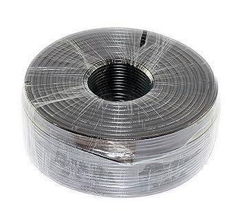 Amazon.com: 1000 ft tri-shield RG6 cable coaxial (rollo de ...