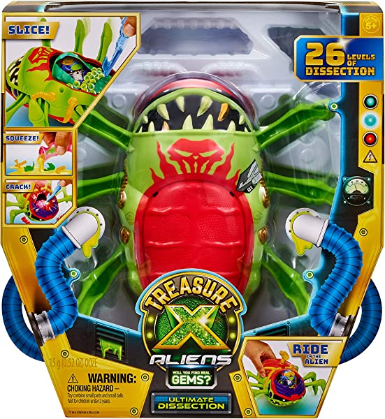 Treasure X Aliens - Ultimate Disection Playset in box
