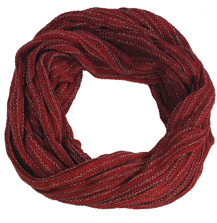 Sciarpa con Anello Magico Gilet Sciarpe Cotone Sciarpa con Anello Morbido//stola Blu Dimensione Indumenti:One Size Guru-Shop