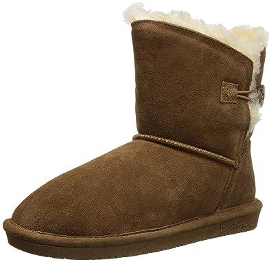 BEARPAW Women's Rosie Snow Boot,Hickory,5 ...