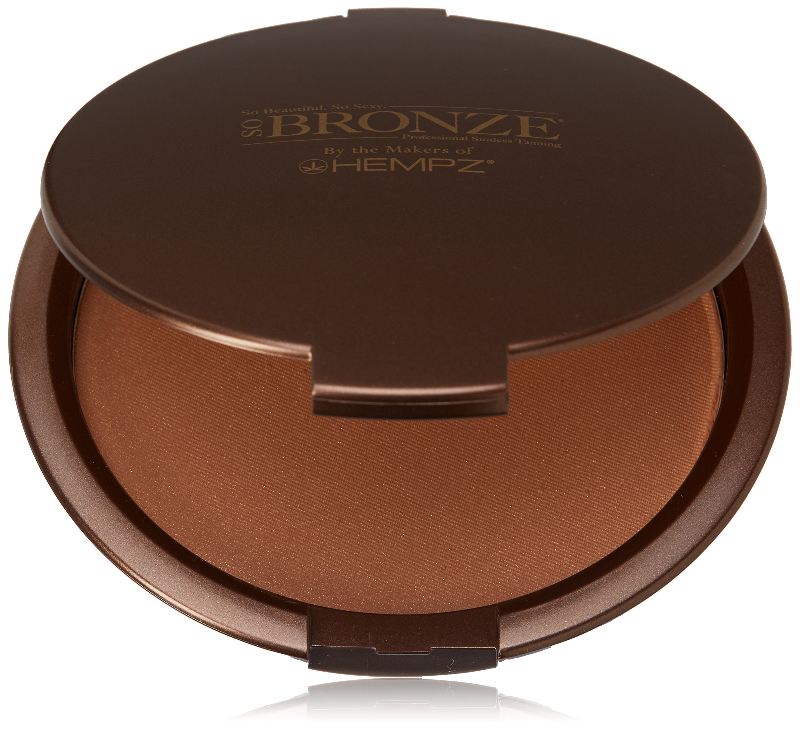Hempz So Bronze Compact Body Bronzer, Shimmer Bronze, 0.70 Ounce