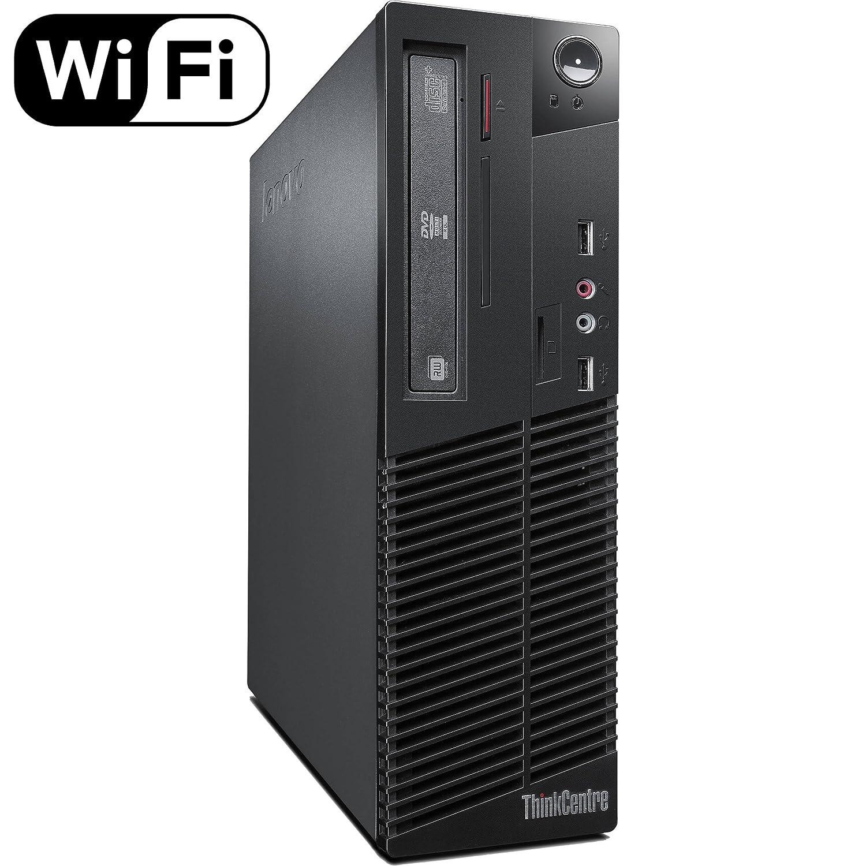 Lenovo ThinkCentre M72e Small Form Factor (SFF) Business Desktop, Intel  Quad Core i3-3220 CPU, 8GB DDR3 RAM, 120 GB SSD, DVD, Windows 10 Pro 64