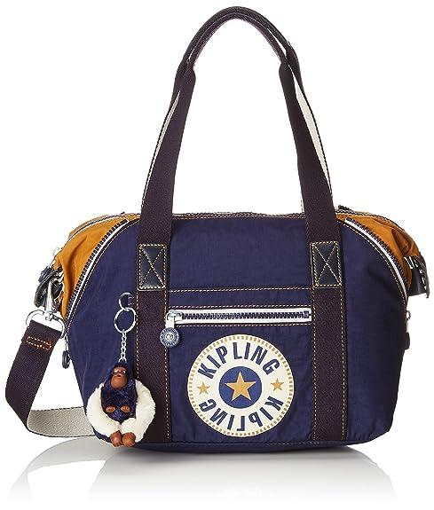 27398fa58 Kipling - Art Mini, Bolsos maletín Mujer, Azul (Active Blue Bl ...