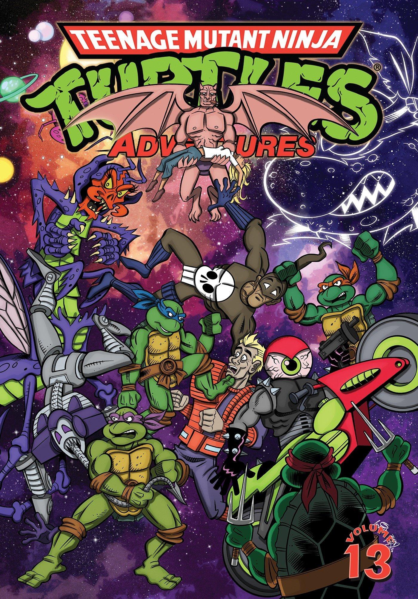 Amazon.com: Teenage Mutant Ninja Turtles Adventures Volume ...