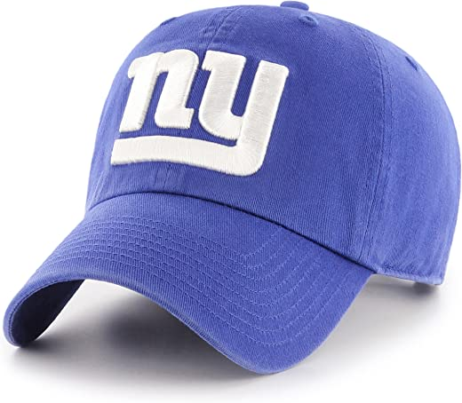 OTS NFL New York Giants Men's Challenger Adjustable Hat, Alternate Team Color, One Size