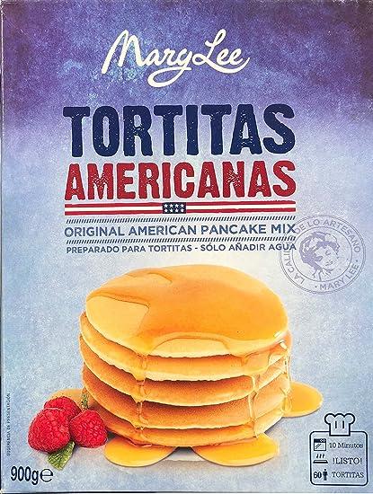 Paquete De Preparado En Polvo Para Tortitas Americanas Mary Lee 900 Gr