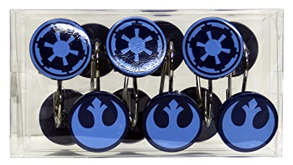 Image Unavailable Not Available For Color Star Wars Classic Set Of 12 Shower Curtain Hooks