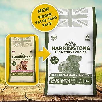 Harringtons Salmon And Potato 18 Kg
