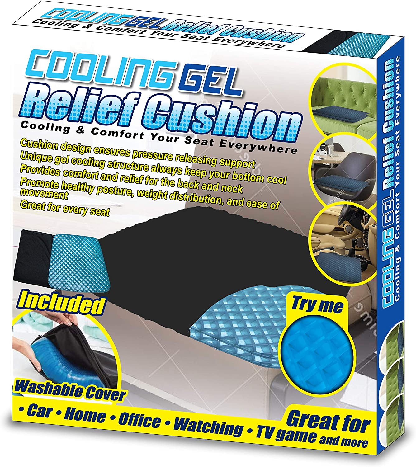 Miracle Gel Cooling Cushion
