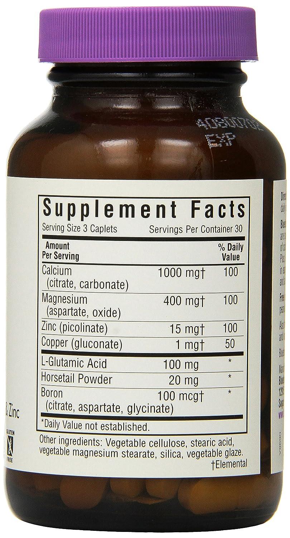 Amazon.com: BlueBonnet Calcium Magnesium Zinc Caplets, 90 Count: Health & Personal Care