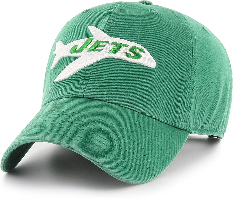 OTS NFL New York Jets Mens Challenger Adjustable Hat One Size Legacy