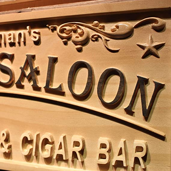wpa0401 Whisky Saloon nombre personalizado Moonshine todavía ...