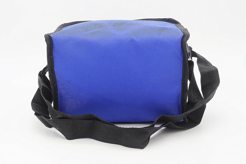 bleu marine Sac isotherme pour aliments de 2 litres taille parfaite transport des boissons froides ou des aliments Capacit/é de 6 canettes