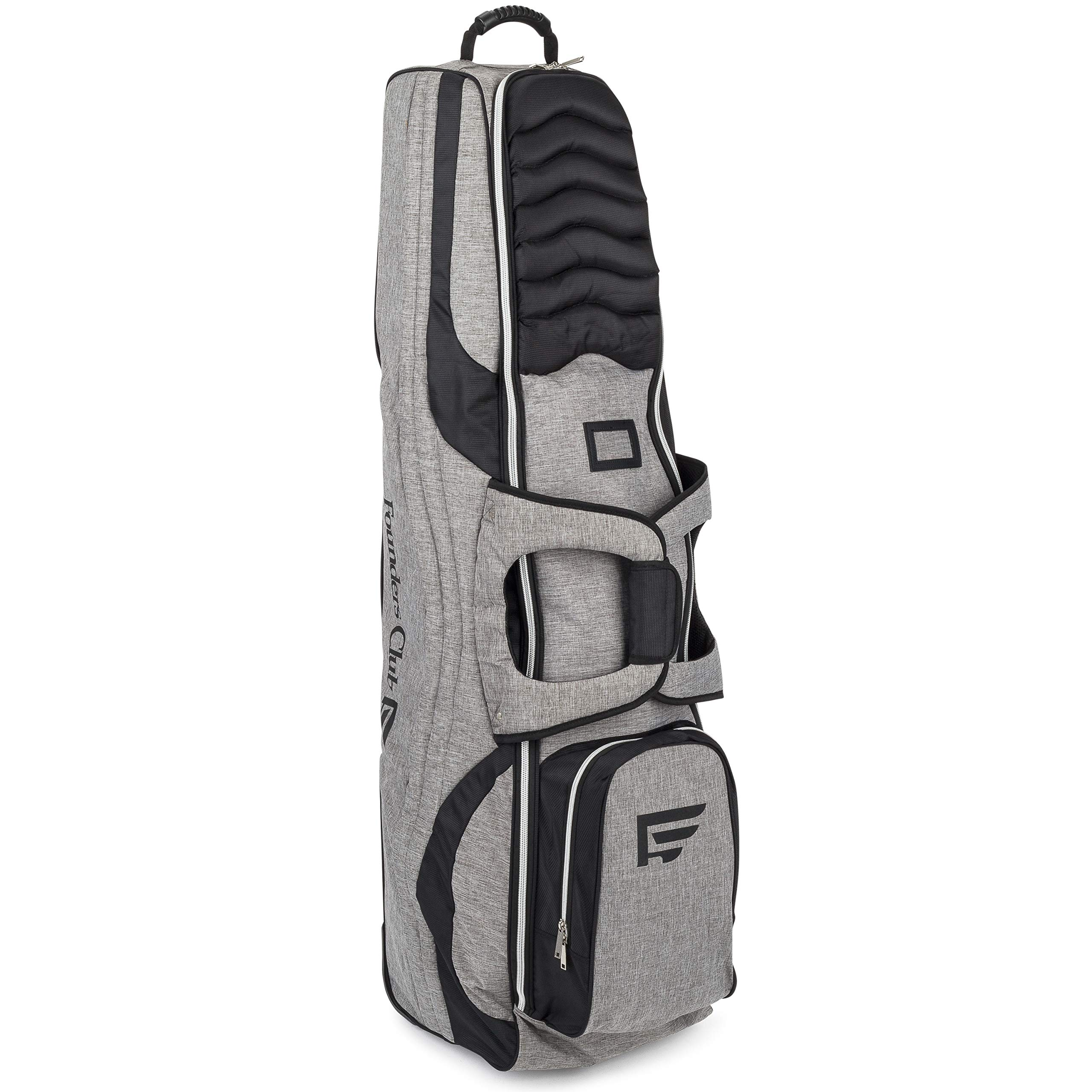 Founders Club Golf Travel Bag Travel Cover Luggage for Golf Clubs with Padded Club Protection by Founders Club