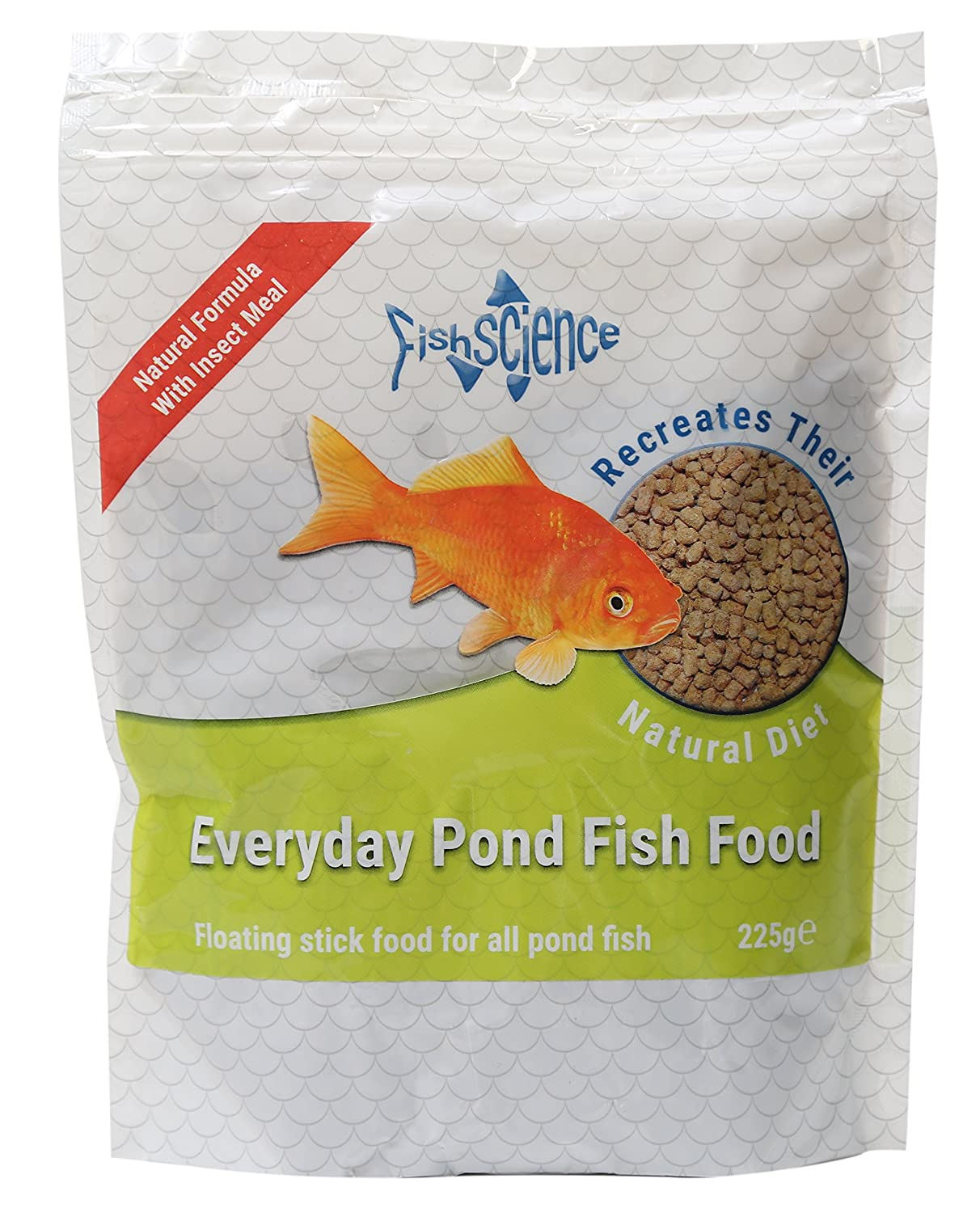 Buy Fishscience Everyday Pond Fish Food 225g Online at Low
