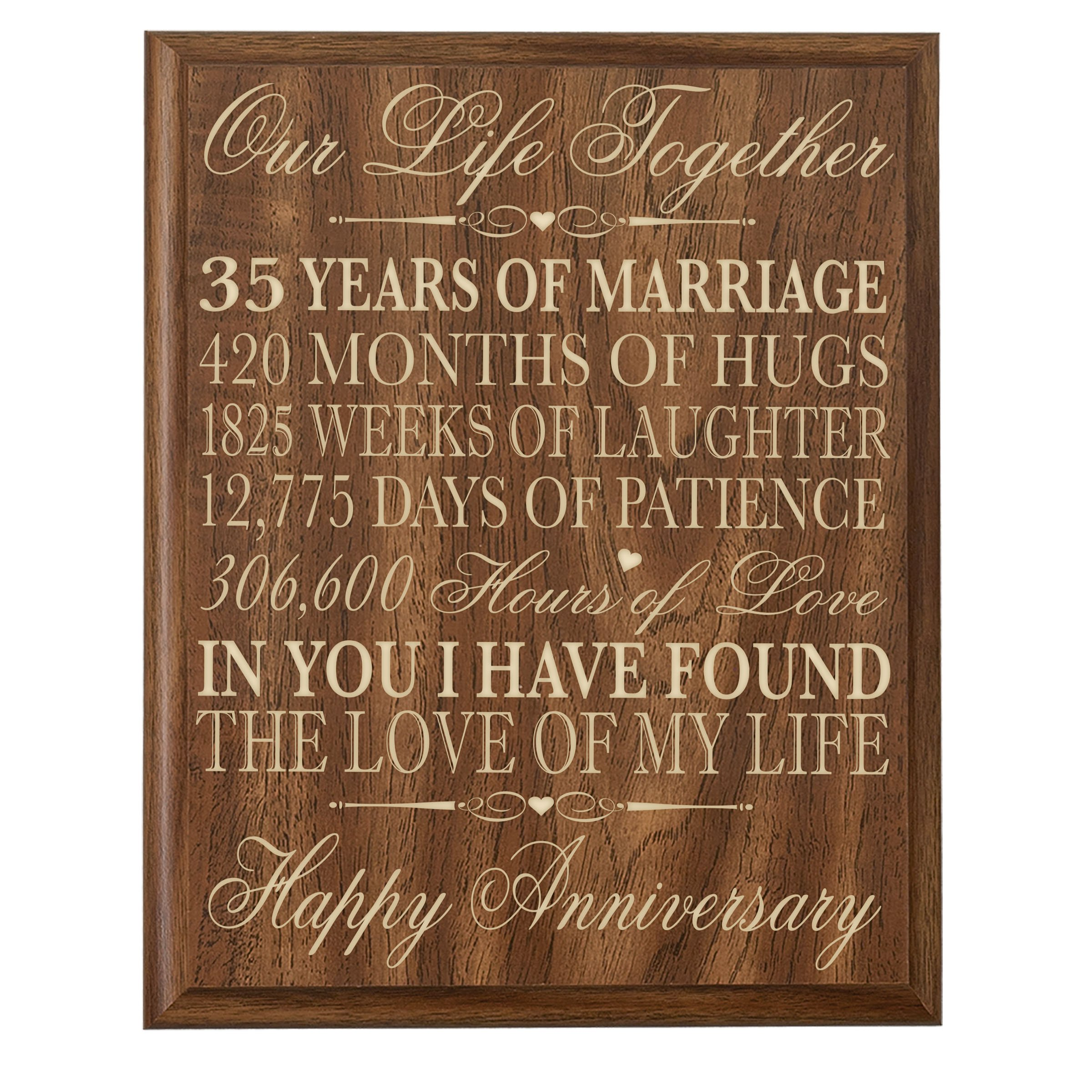 The 35 Best Wedding Gifts Of 2020: 35 Year Anniversary Gift: Amazon.com