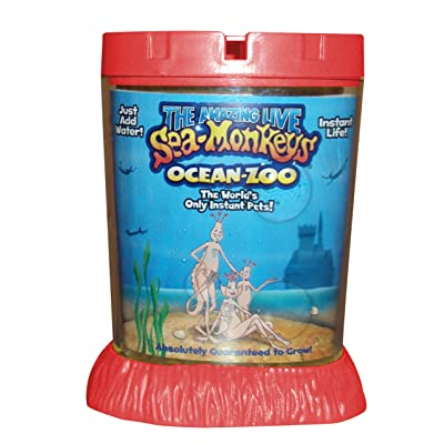 Big Time Toys Sea Monkeys Ocean Zoo Deluxe Kit Set- Colors May Vary: Toys & Games
