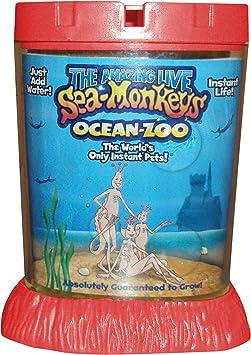 Sea Monkeys Ocean Zoo Deluxe Kit Set Habitats Amazon Canada