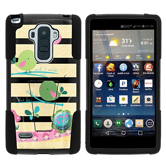 big sale e431a 843d5 LG Stylo Case, Full Body Fusion STRIKE Impact Kickstand Case with Exclusive  Illustrations for LG G Stylo LS770, LG G4 Stylus (T Mobile, Boost Mobile,  ...