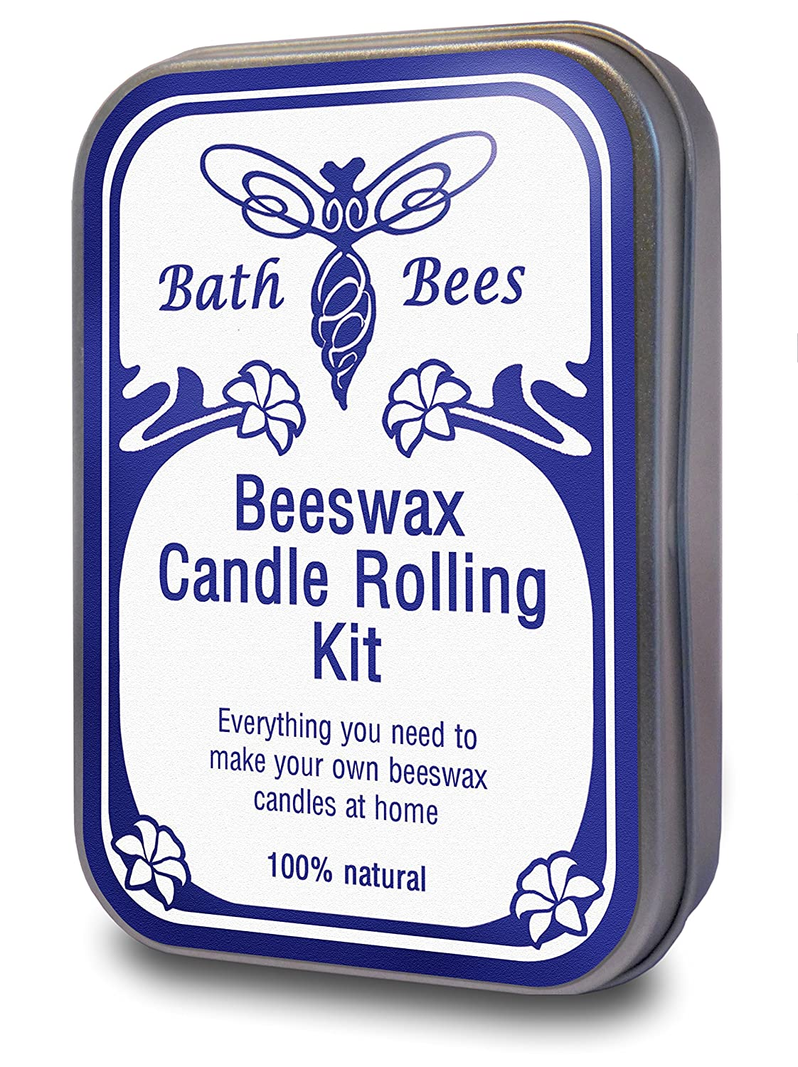 Natural Beeswax Candle Rolling Kit Bath Bees