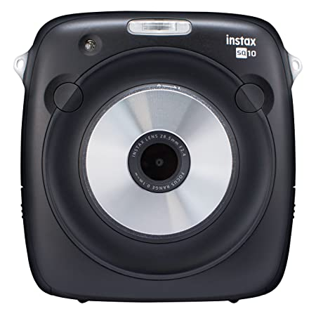 Fujifilm Instax Square SQ10 Hybrid Instant Camera (Black) Instant Film Cameras at amazon