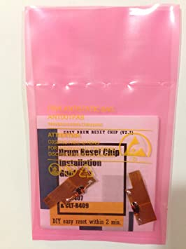 Super fácil tambor Pegatina de reset chip para Samsung CLP 360 365 ...