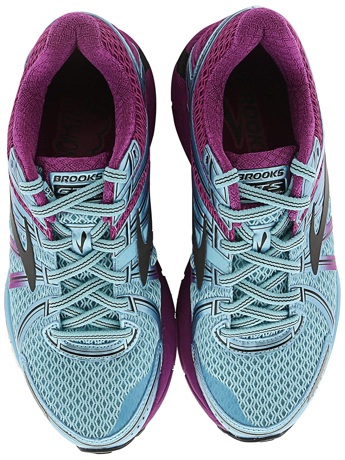 2f917b742073f Brooks Women s Adrenaline GTS 17 Iceland Blue Hollyhock Black Athletic Shoe   Brooks  Amazon.in  Shoes   Handbags