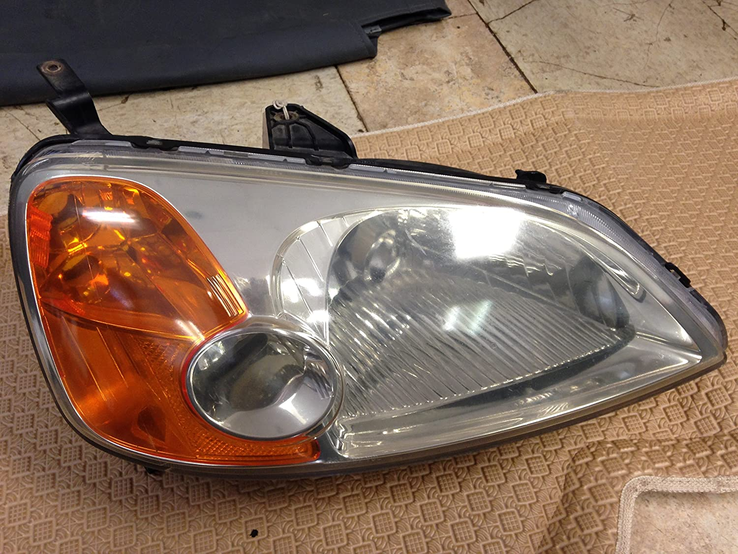 For Honda Civic Coupe Right Hand Headlight 01 02 03
