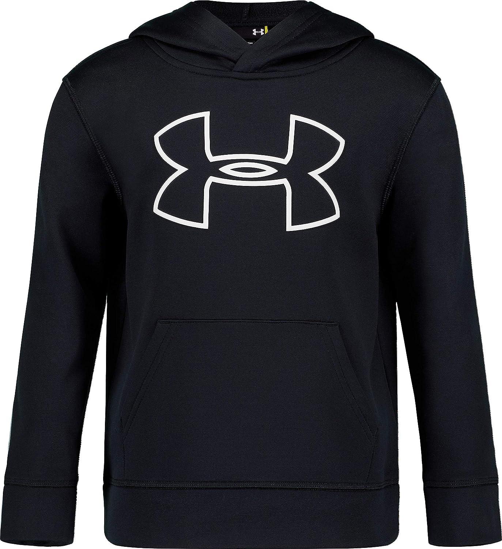 Under Armour Boys Little Big Logo Hoodie 6 Black H19