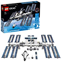 LEGO Ideas International Space Station 21321 Building Kit, Adult Set for Display...