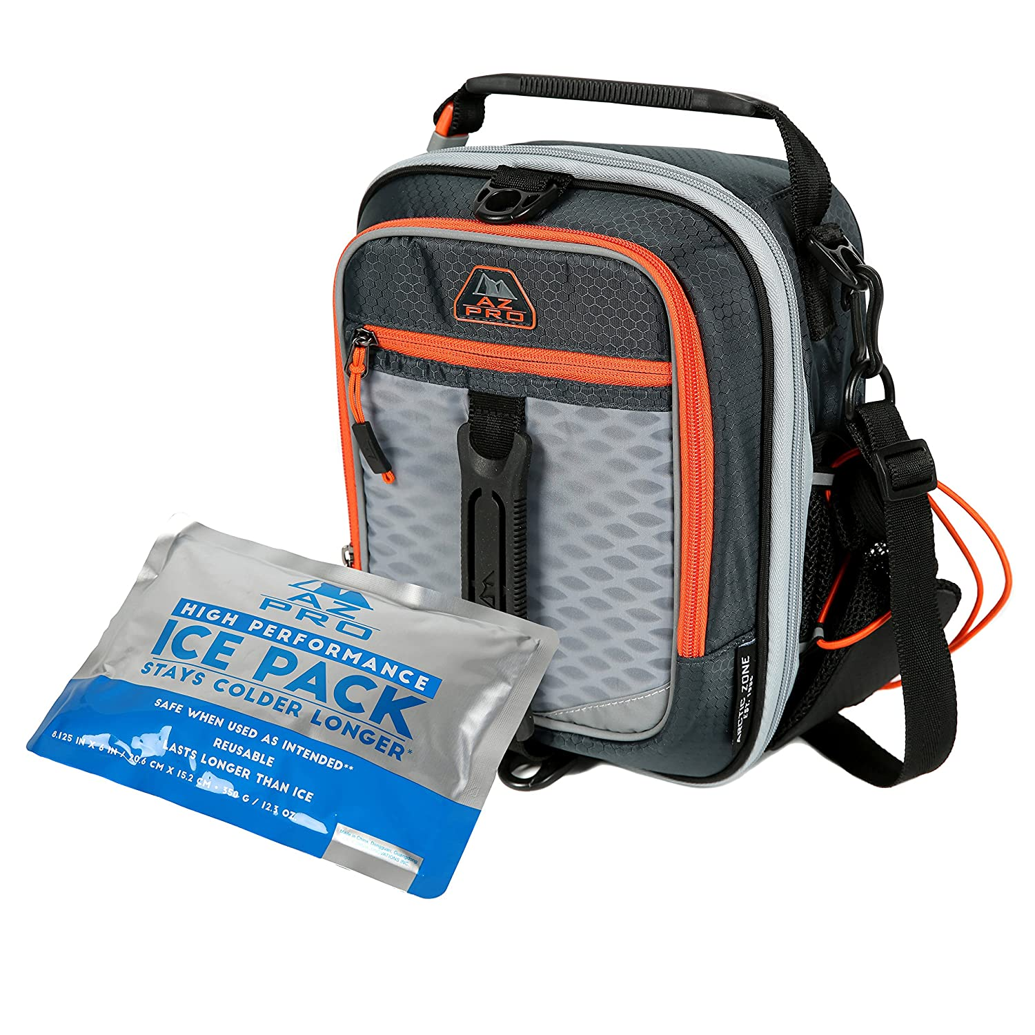 d5c76ef1ce Amazon.com  Arctic Zone 1349AM000000 Insulated Lunch Pack Black  Kitchen    Dining
