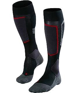 Salomon Mens Elios 2 Ski Socks (2 pack) BlackBlue & Blue