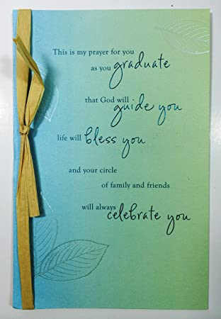 Amazon graduation card religious this is my prayer for you as graduation card religious this is my prayer for you as you graduate m4hsunfo