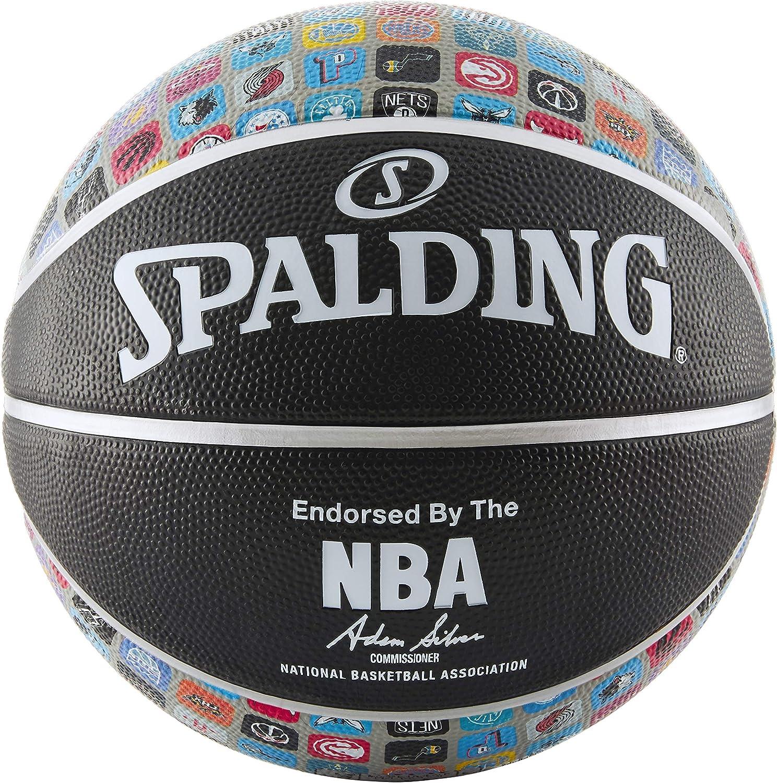 Amazon.com: Spalding NBA Apps Logo Iconos Baloncesto: Sports ...