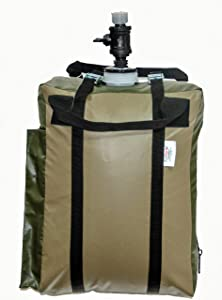 EZPACK JerryFlex Portable Bladder Water Dispenser - Water Container with Spigot - BPA Free Replaceable Bag - Water Tank for Camping Gear Essentials, Road Trip Essentials, Hurricane Supplies for Home