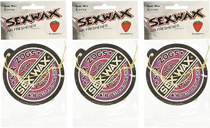 Amazon.es: MR. zog de Sex Wax – Ambientador, 3-Pack (aroma a elección)