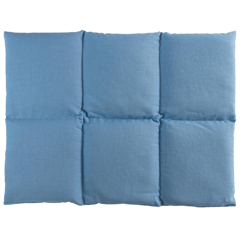 Cojín de semillas de lino | 40x30 azul claro | Cojín de ...