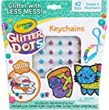 Crayola Glitter Dots Key Chains, Mess Free Glitter Craft Kit for Kids who Love Sparkle in Their Art! A Creative New Way…