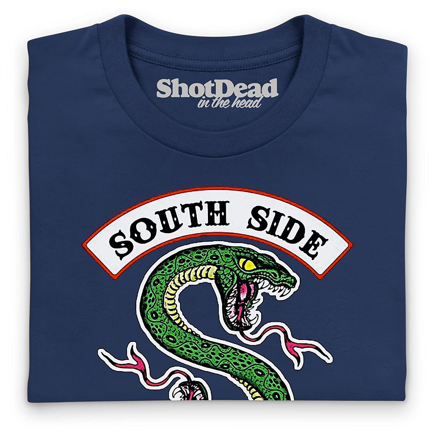 Inspired by Riverdale - South Side Serpents Camiseta, Para mujer: Amazon.es: Ropa y accesorios