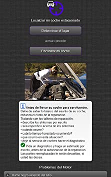 Amazon.com: Spanish Language Version of Car Warning Lights Guide Solve Your Car Problems with Roadside Assistance: Appstore for Android