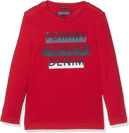 Tommy Hilfiger Camiseta para Niños: Amazon.es: Ropa y accesorios