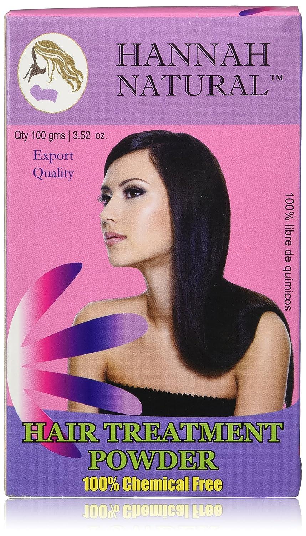 Amazon.com : Hannah Natural Hair Treatment Powder, 100 Gram : Hair Regrowth Treatments : Beauty