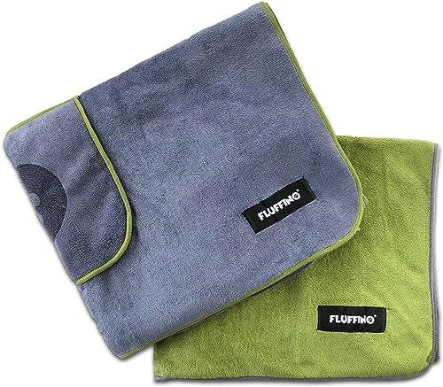 FLUFFINO-Hundehandtuch-Saugfähig