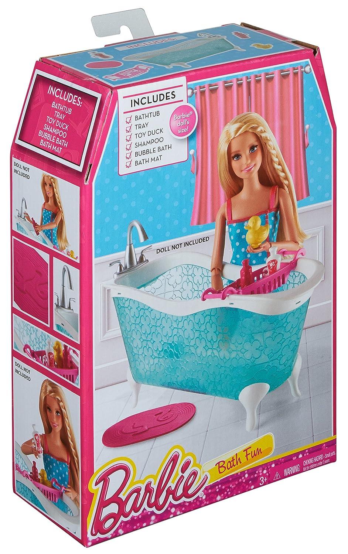 Amazon.com: Barbie Story Starter Bathtub Playset: Toys & Games