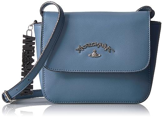 ed6aee6ccfc Amazon.com: Vivienne Westwood Crossbody Bag, Blue: Clothing
