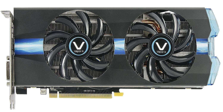 Sapphire Radeon Vapor-X R9 270X 2GB GDDR5 DVI-I/DVI-D/HDMI/DP with Boost  and OC Version (UEFI) PCI-Express Graphics Card 11217-00-40G