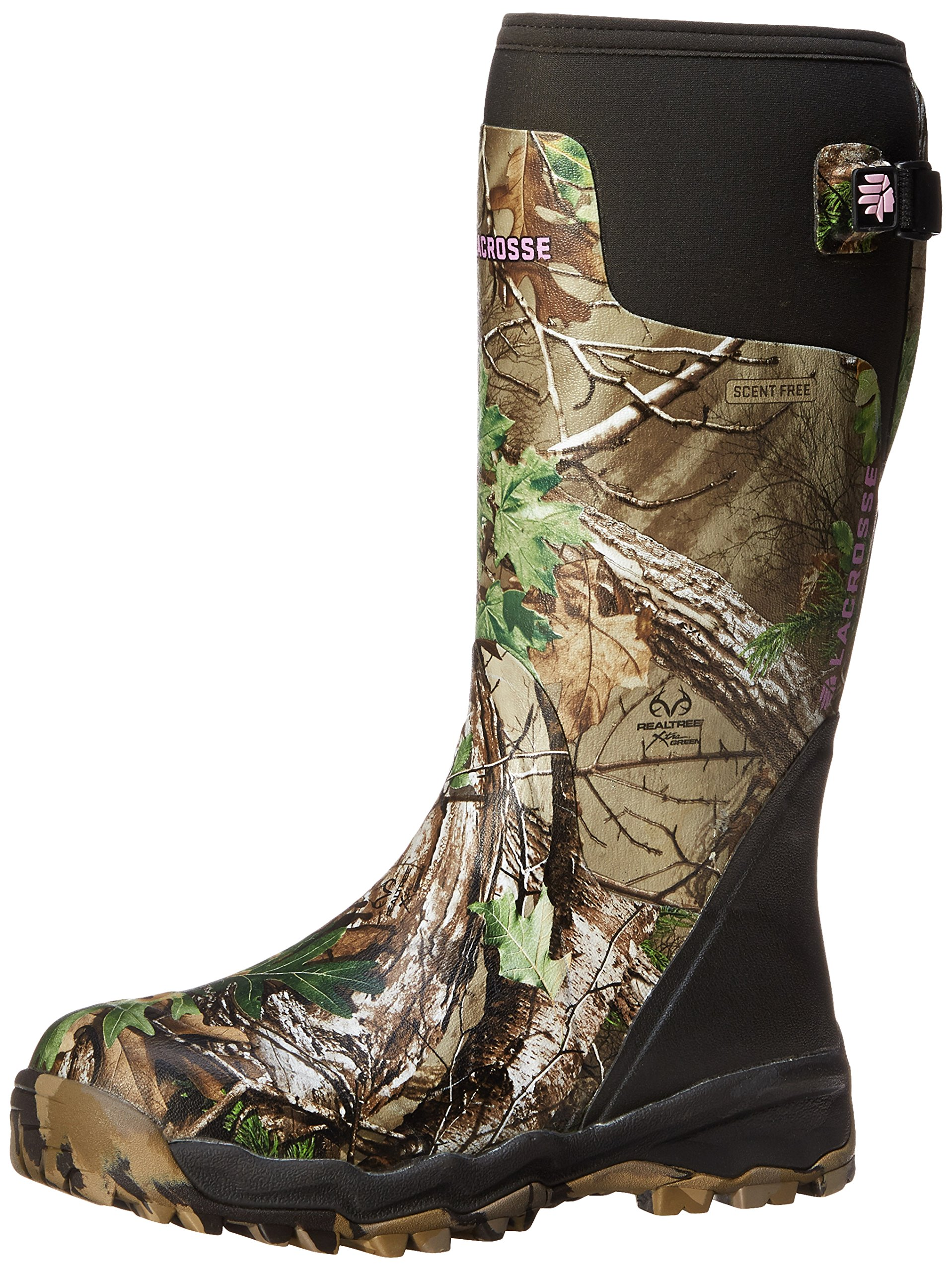 LaCrosse Women's Alphaburly Pro 15 Realtree APG Hunting Boot,Realtree Xtra Green,9 M US