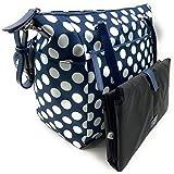 Kate Spade New York Jae Nylon Baby Diaper Bag (Blue-Multi)