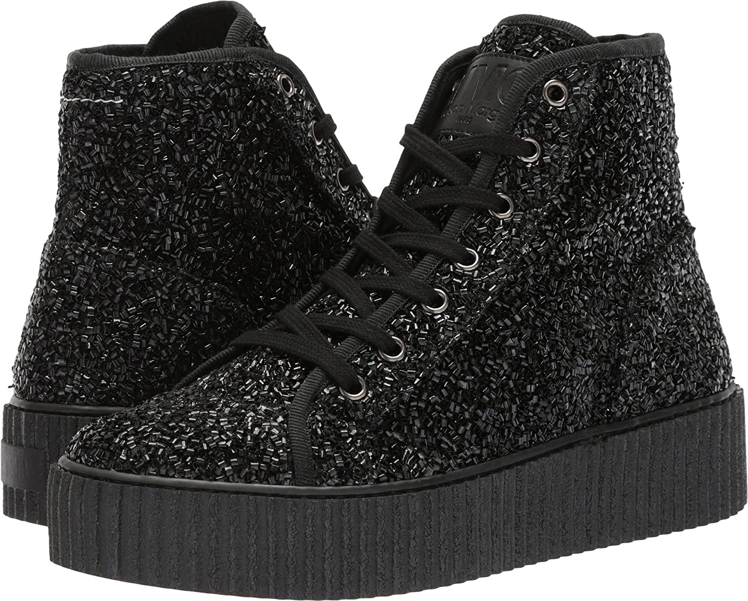 e3b42a2811e45 Amazon.com | Maison Margiela MM6 Womens Tinsel High Top | Shoes
